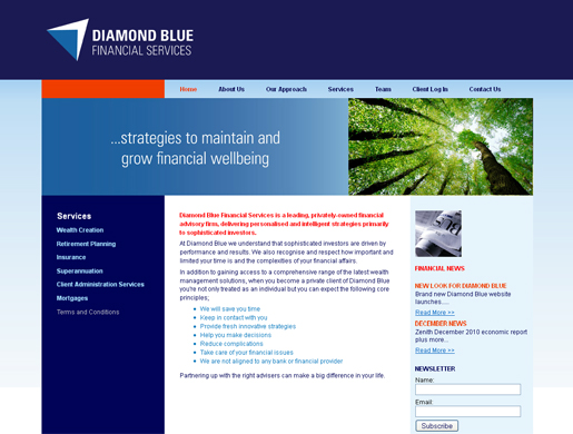 DIAMOND BLUE FINANCIAL SERVICES