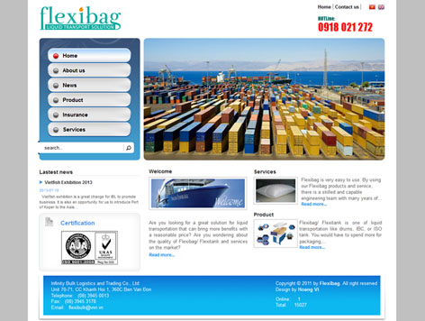 INFINITY BULK LOGISTICS AND TRADING CO. LTD